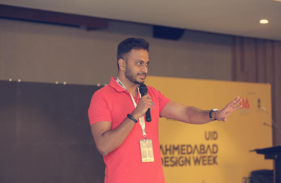 At UID, sharing my story