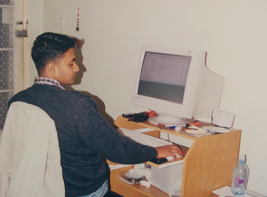 My first workstation at home